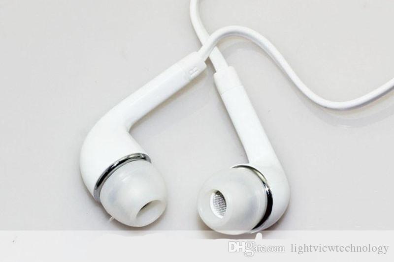 Fones de ouvido fone de ouvido com microfone e fone de ouvido estéreo remoto 3.5mm para samsung galaxy s7 s6 s5 s4 s3