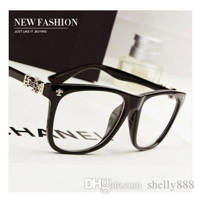 Fashion Men Women on Frame Name Brand Designer Plain Glasses Optical ...
