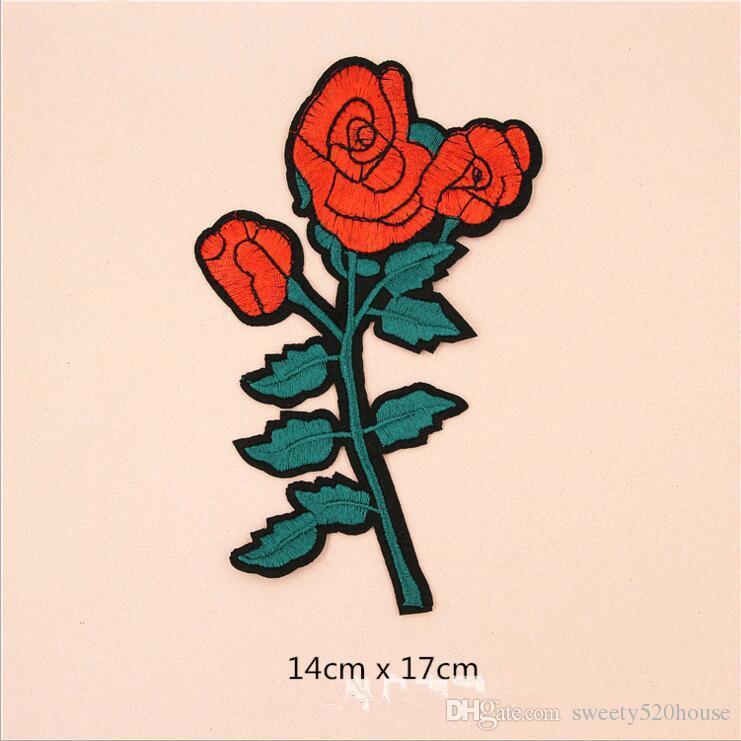 5шт/комплект высокое качество новый цветы и змея скороговоркой горячий прилипатель Melt аппликация вышивка патчи нашивки DIY одежда аксессуар