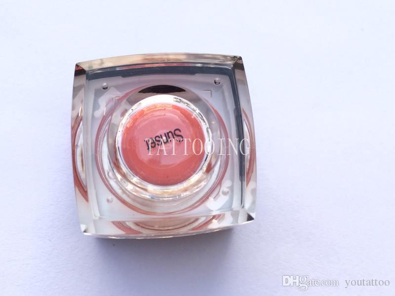 3D Effect Eyebrow Tattoo Pigment Permanent Eyebrow Lip Eyeliner Makeup Tattoo Ink Kit For Lip&eyebrow Tattoos Sunset