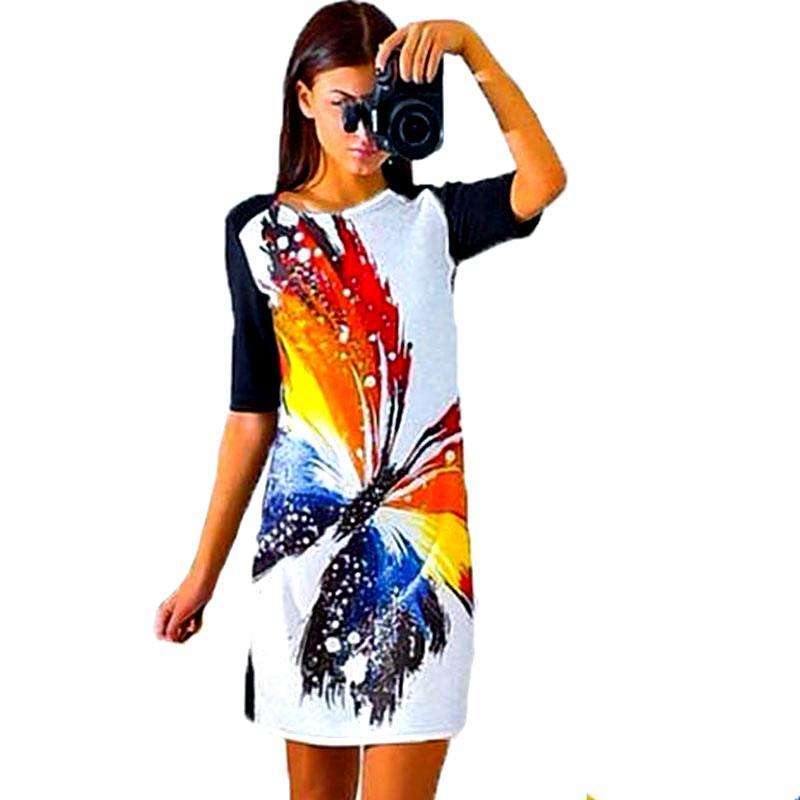 91c73e3c0b5 2019 Wholesale Low Price Dress Print Fashion Vestidos De Festa Renda  Vintage Summer Casual Women Clothing Mini Female Cheap Clothes China From  Cacy