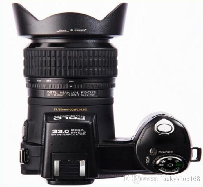 zoom ottico Nuova PROTAX POLO fotocamera digitale D7100 di alta qualità 33MP PIENA HD1080P 24X Auto Focus camcorder professionale DHL