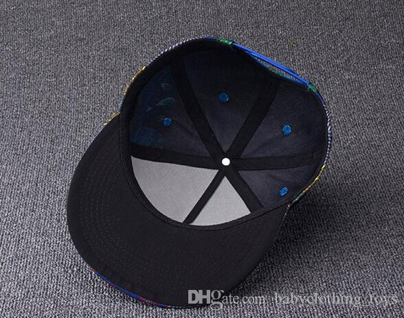 Unisex Men Women 3D Printing Hats Hip Hop Snapback Cap Embroidery Adjustable Hat Fashion Outdoor Sports Caps 40 styles DHL
