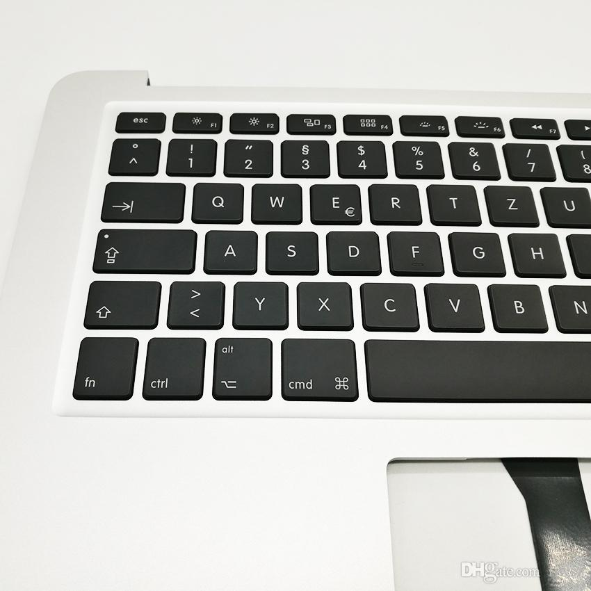 """Brand New Laptop German topcase With Keyboard For Macbook Air 13"""" A1466 2013-2015 Years Top Case"""