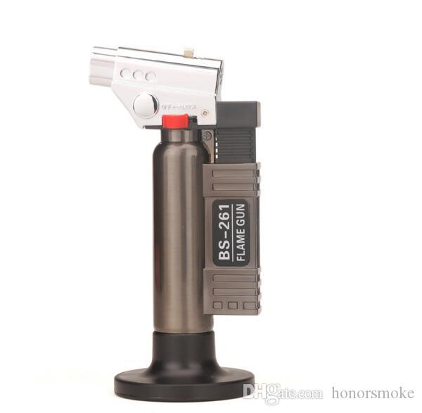 XXL torch butane lighter Outdoor barbecue spray lighters Smoking tools for kitchen use NO Gas Click N Vape sneak A vape