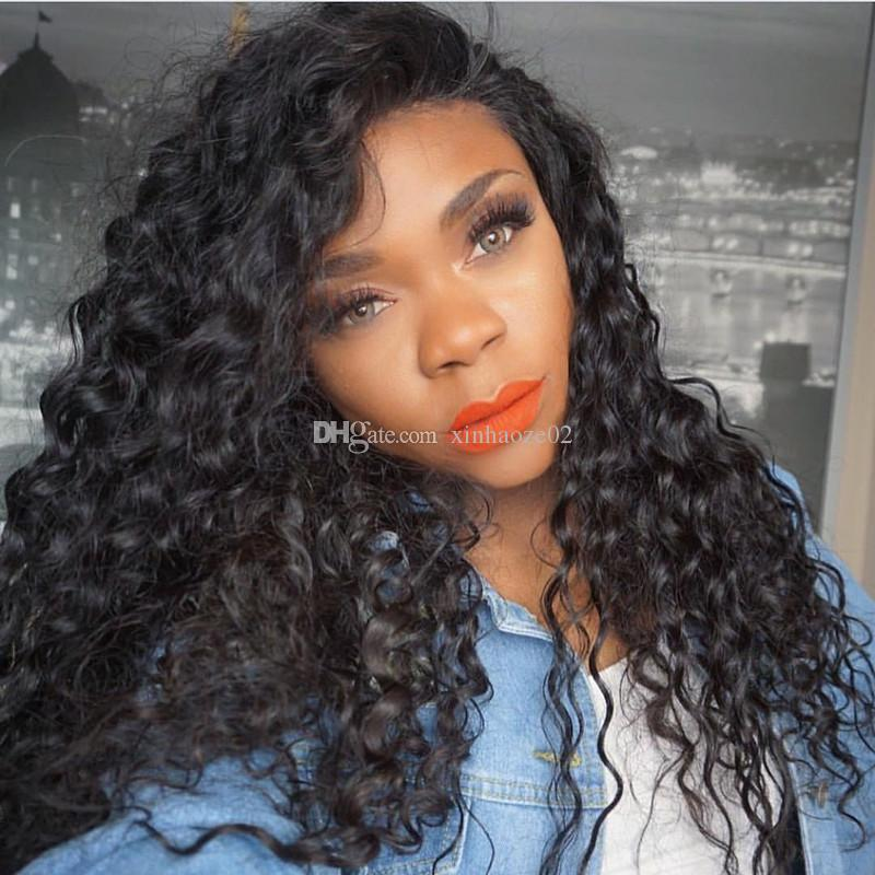 Brazilian Full Lace Wig With Baby Hair Lace Front Human Hair Wigs Full Lace Wig Human Hair Bleached Knots Pre Plucked Hairline