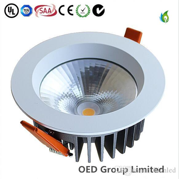 50W 8Inch Low Price Aluminum COB Recessed LED Ceiling Down Light CE SAA CE Approved with 5years warranty