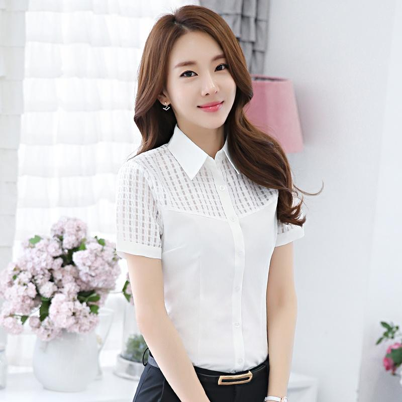 2018 New Short Sleeve Formal Shirts Summer Professional Shirt ...