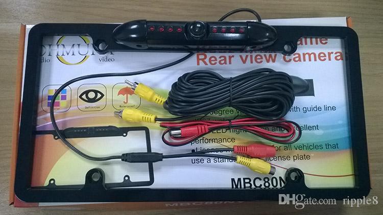 미국 미국 Lisence 플레이트 자동차 카메라 미국 IP67 방수 자동차 카메라 카메라 PZ422 DC 12V 1/4 CMOS 무료 포스트