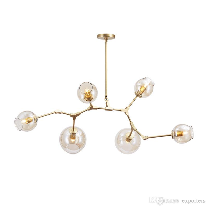 Lindsey Adelman Chandelier Light Modern Lamp Novelty Led Pendant ...