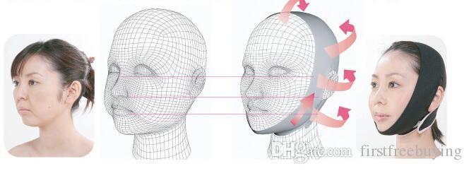 1 шт. / Лот женщины морщин V лицо подбородок щека поднимите похудения тонкий Маска ультра-тонкий ремень