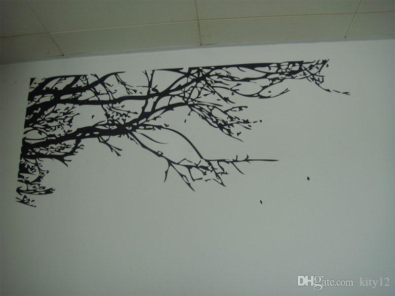 Black Tree branches Wall sticker DIY Art Vinyl Wall Stickers Decal Decor Mural Home Decoration Wallpapers