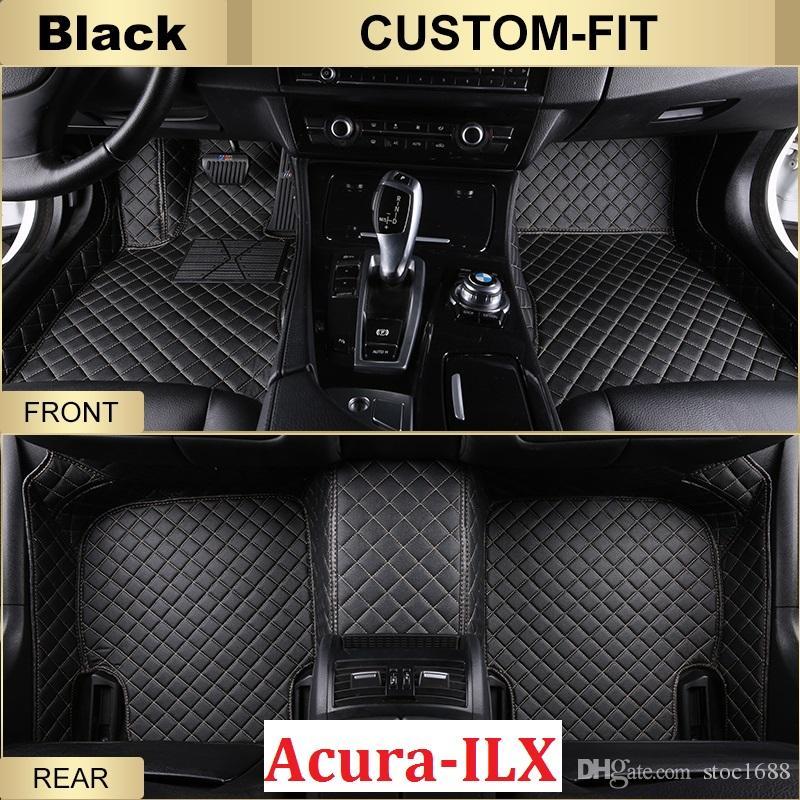 Best Scot Custom Fit Leather Car Floor Mats For Acura Ilx All - Acura floor mats