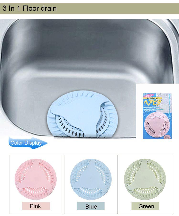 Floor drain, drain, sink filter. Anti-blocking septum to drain, puddle filter, environmentally friendly deodorant floor drain.