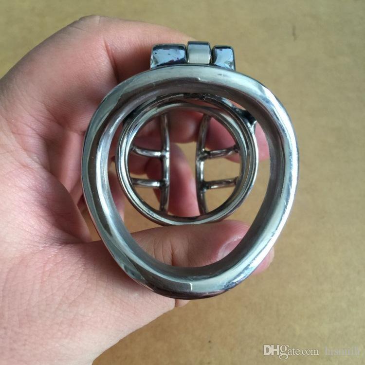 Melhor Dispositivo Seling comprimento total de 5.5 cm, comprimento da gaiola 4 cm de dispositivos de castidade masculina pequena castidade cb dispositivos de castidade de gaiola para homens