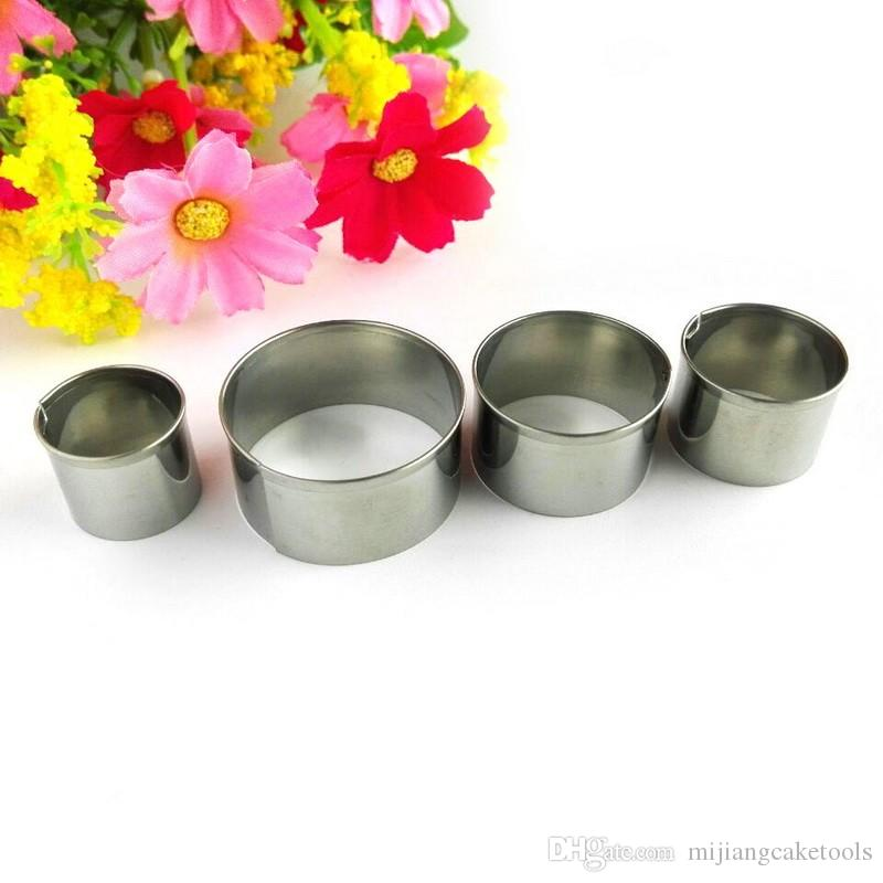 Mijiang Stainless Steel Round Shaped Cake Cookie Cutters Fondant Cake Decorating Tools for Baking Bakeware Wholesale A307
