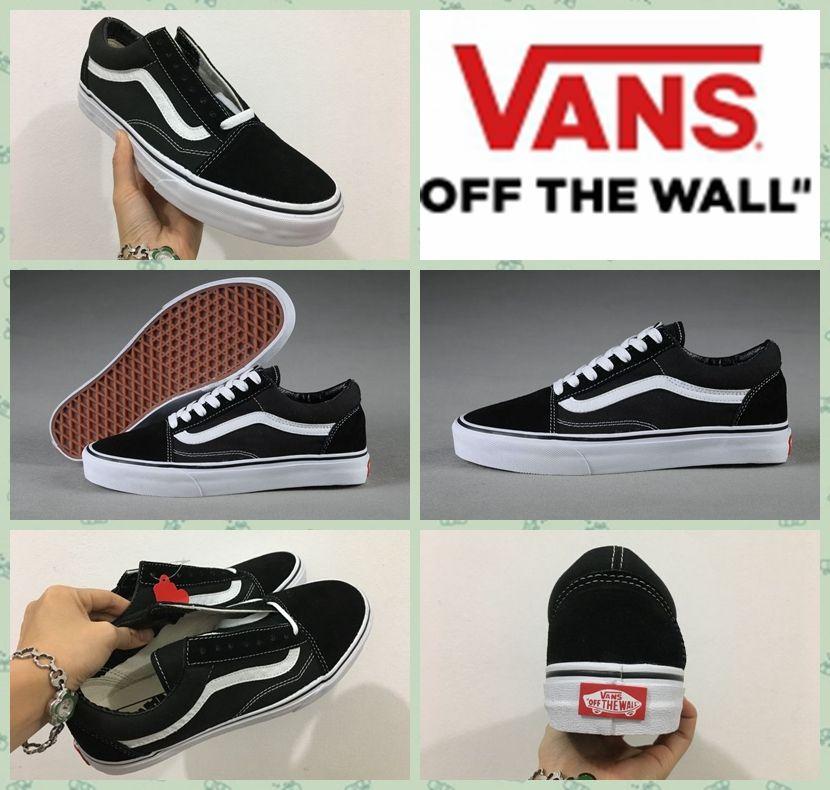 718377457fb Buy mens black slip on vans