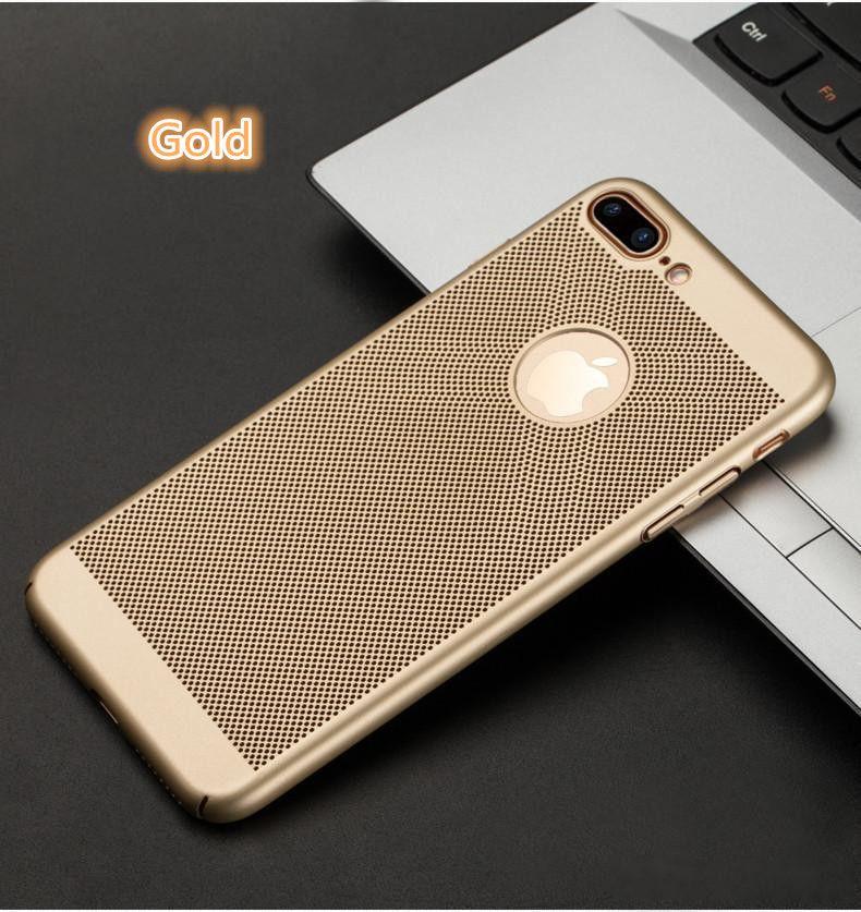 De luxe Scrub Respirant Coque PC Dur Couverture De Protection Complète Pour iPhone X 8 plus 8 iphone 7 plus Avec 5 Couleur UP