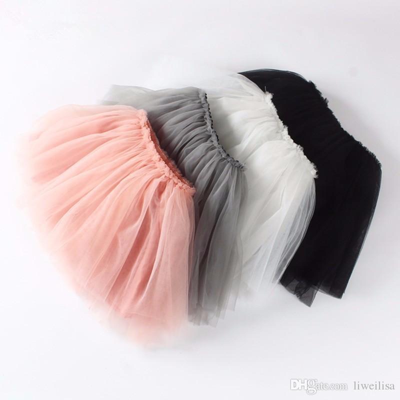 Baby Girl Pettiskirts Net Veil Skirt Kids Cute Princess Clothes Birthday Gift Toddler Ball Gown Party Kawaii TUTU Skirts