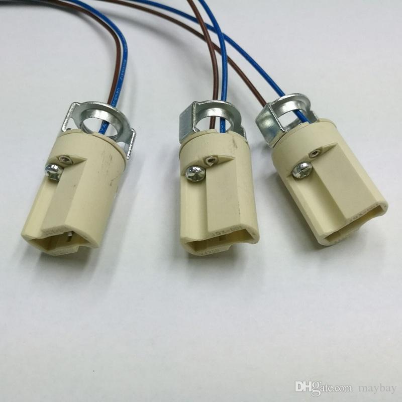 G9 LED 크리스탈 전구 램프 BASE 세라믹 소켓 램프 홀더