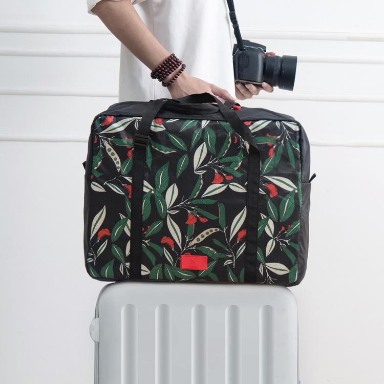 Seesack Reise tragbare Nylonbeutel Falten wasserdicht große Kapazität Reisetasche Reisezubehör Taschen duffel