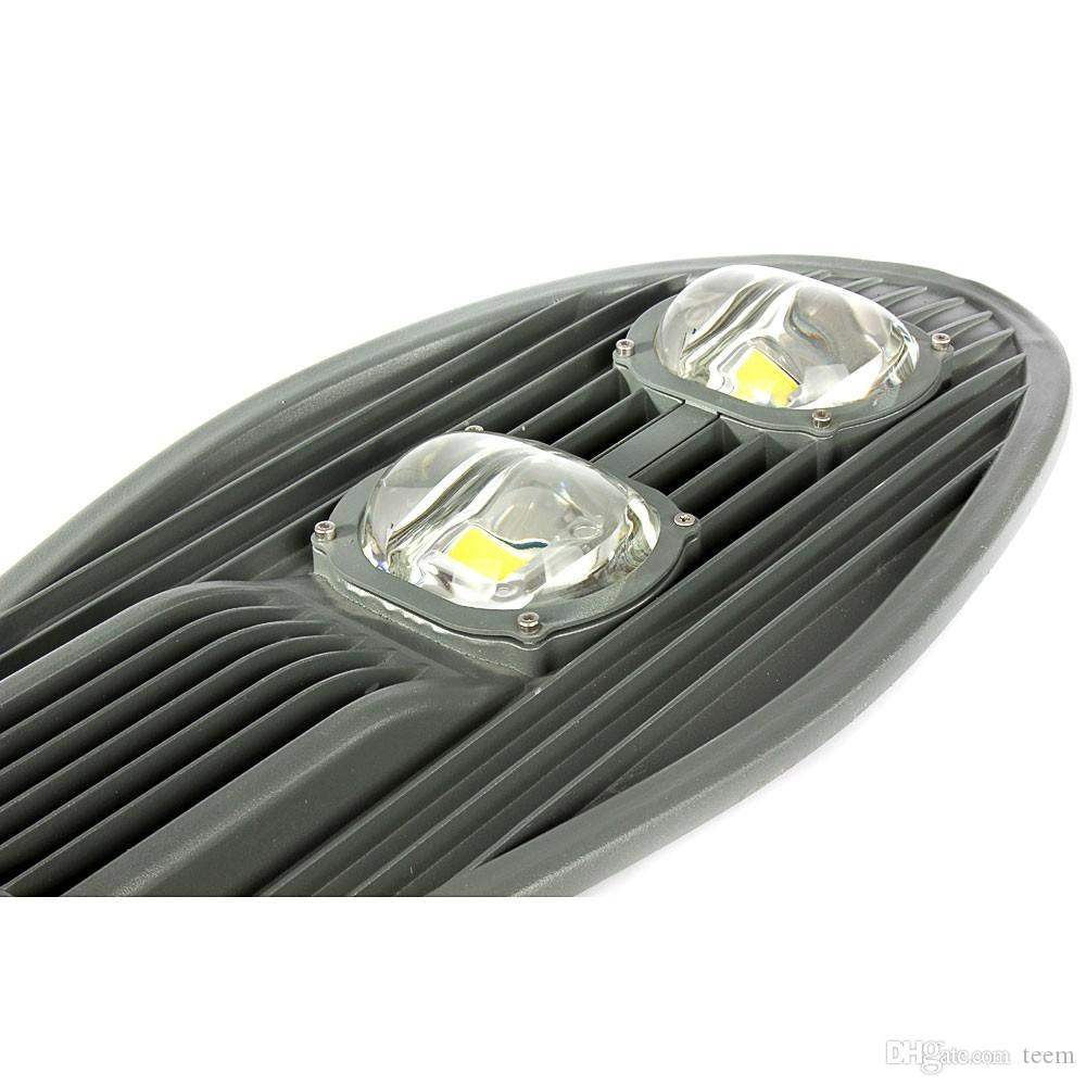 DHL LED Straßenlaterne 50 Watt 80 Watt 100 Watt 150 Watt AC 85 V ~ 265 V Hochfeste Cobra Kopf Straße Licht Garten Licht Außenbeleuchtung Fabrik Direkt