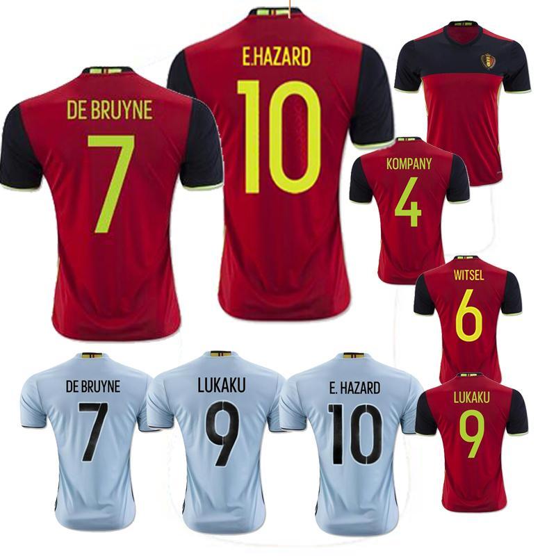 official photos de68e df5a4 belgium soccer jersey