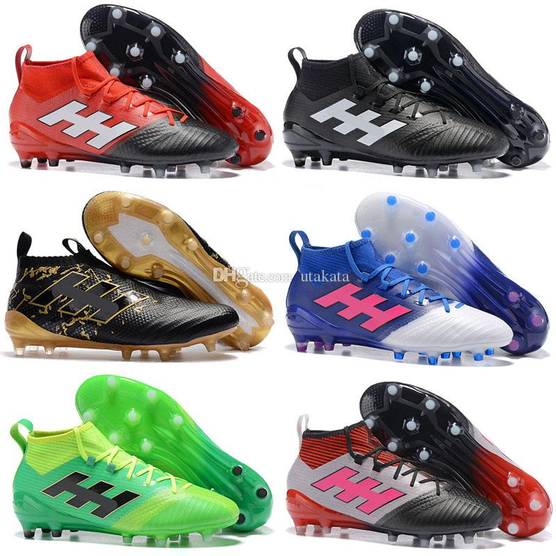 the best attitude 28f9c 3056e 2017 New mens Football Boots ACE 17 PureControl FG Pure Chaos Control  Soccer Shoes X 16 PureChaos Soccer Cleats 17.1 MessI PureAgility