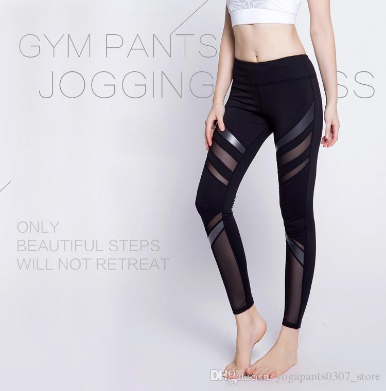 be142262270fe 2019 Women'S Yoga Pants Spring Summer Satin Dye Fitness Sports ...