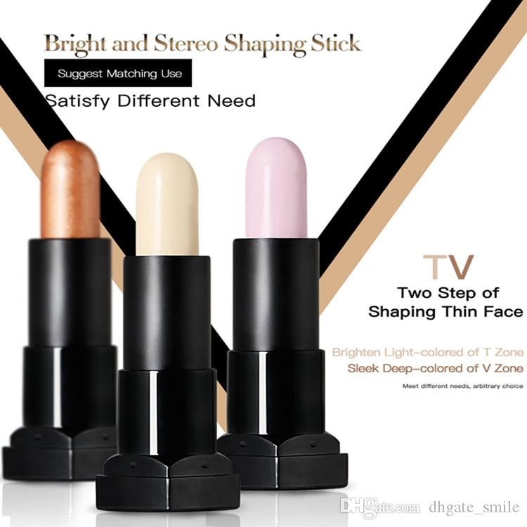 DHL free Makeup Concealer Long Lasting Concealer Palette Makeup Contour Foundation Face Cream Concealer Stick Pencil Qibest