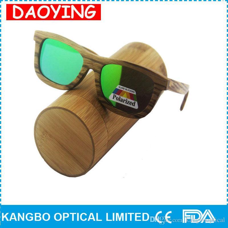 c6c90b0f2e Compre Al Por Mayor Nuevo Llega Gafas De Sol De Madera De Alta Calidad  Excelente Hombres Mujeres De Bambú Marca Gafas De Sol Ce Uv400 Kangbo A  $19.6 Del ...
