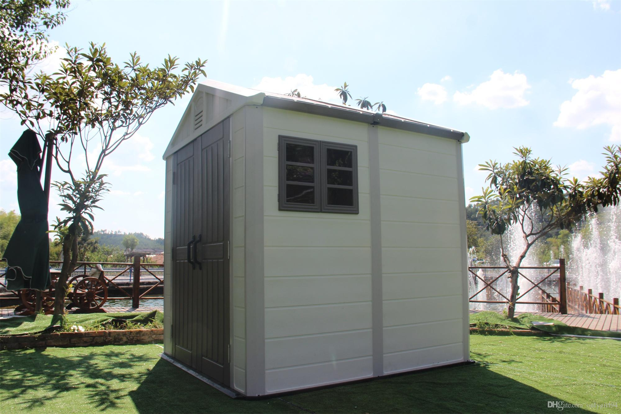 2018 2017 High Quanlity Outdoor Shed Plastic, Shed Garden Storage, Mobile  House, Prefab House For Home Used From Onlygirl94, $702.52 | Dhgate.Com