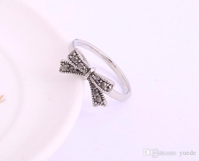 2017 Party Trendy Anillos Jewelry Hot Retro Fashion Charm 925 Rings For Women Diy Compatible With Pandora Thai Vintage