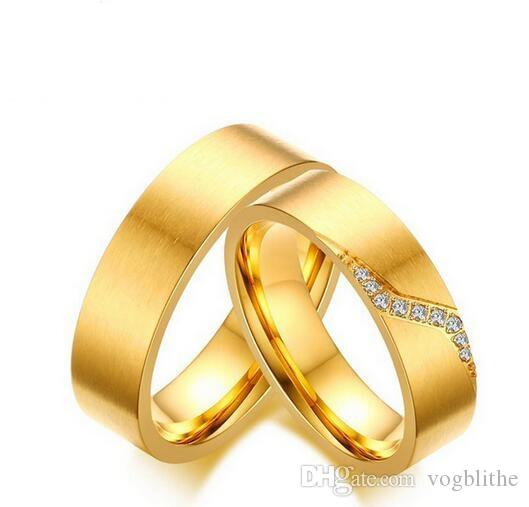2019 Couple Ring 316l Stainless Steel Engagement Wedding Jewelry