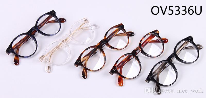 Brand Glasses-New Optical Glasses Frame Oliver Peoples FELDMAN OV5336U Eyeglasses Gregory Peck For Women Men Eyewear Frames Oculos De Grau