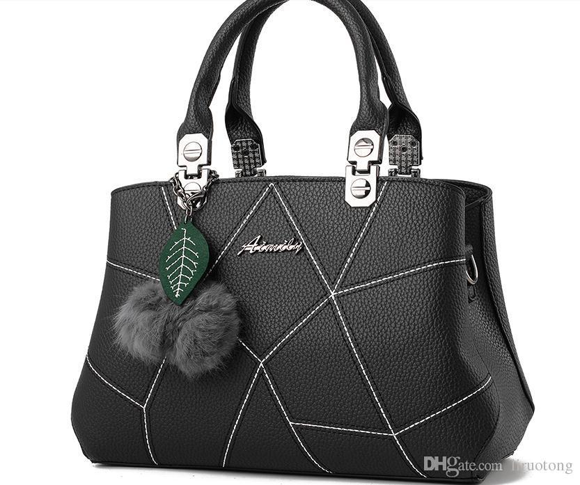 Lady Handtaschen Mode von neuen Fonds von 2017 Herbst Winter ist mittleren Alters weiblichen einzigen Mutter Paket Umhängetasche Tasche, Han-Ausgabe Handtasche