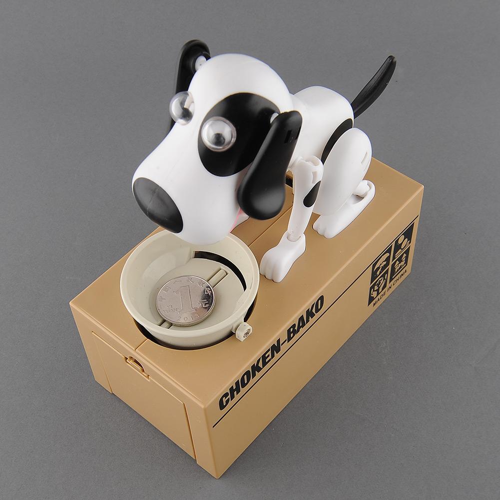 Cute Dog Eat Money Piggy Bank Itazura Coin Bank Save Money Boxes Cat Steal Money Piggy Bank Children Birthday Toy Kids Christmas Gifts