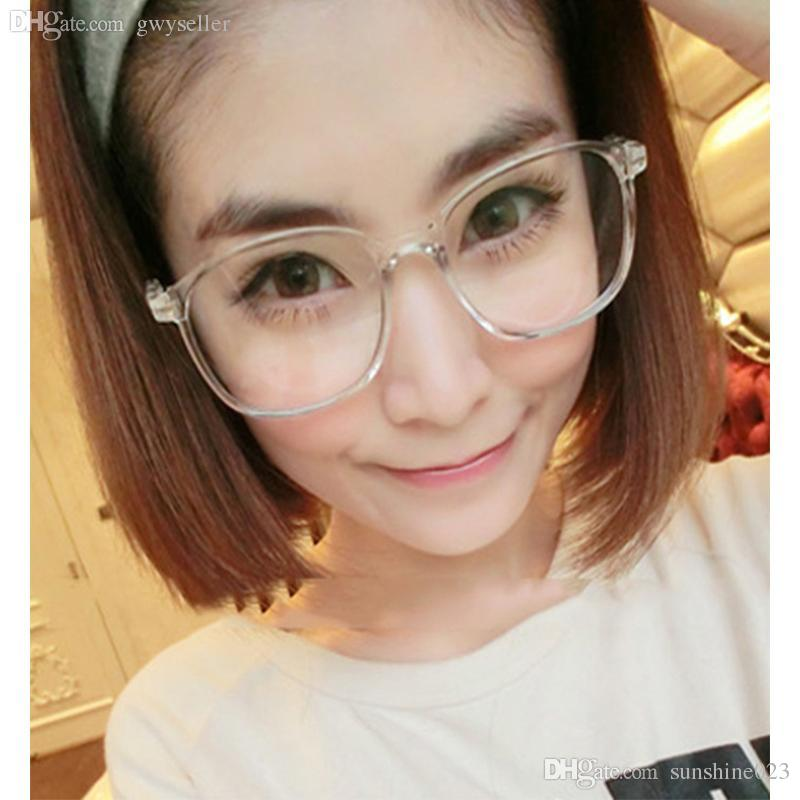 6639e01e766 2019 2017 Vintage Retro Round Glasses Frame For Women Men Nerd Eyeglasses  Frames Men Clear Fake Glasses Eyewear Oculos Optical Frame From  Sunshine023