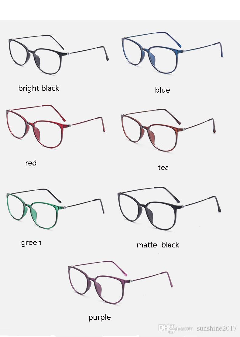 TR90 Ultralight Gözlük çerçeve Kadın Gözlük çerçeveleri tasarımcı miyopi marka şeffaf lens gözlük optik gözlük çerçevesi kedi gözü siyah gözlük