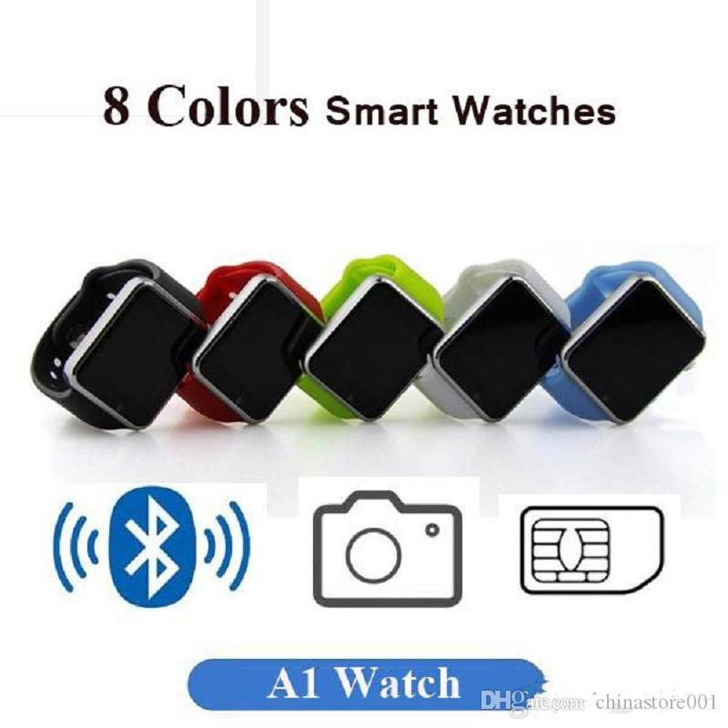 Hot Sell A1 Smart Watch Smartwatches Best Price Bluetooth Mens Womens Smart  Watches Mobile With Camera For Android Smartphone Smartwatch Smart Home ... a73c0e899d