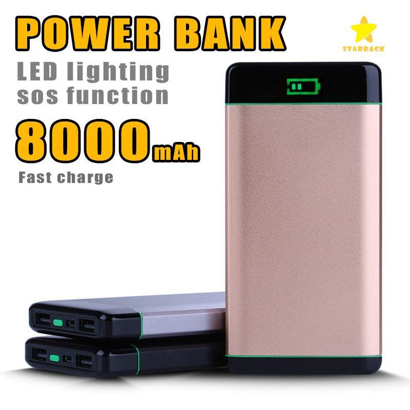 online cheap 8000mah power bank external battery pack charger dual rh dhgate com