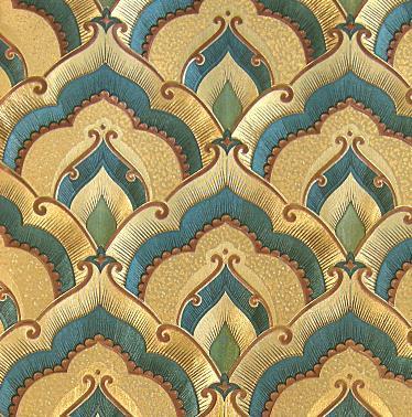 Diamond Lattice KTV Gold Foil Wallpaper Ceiling Embossed Paper Fokan Auspicious Clouds Temple Hostal El Dorado It Hd Wallpapers Kareena Kapoor