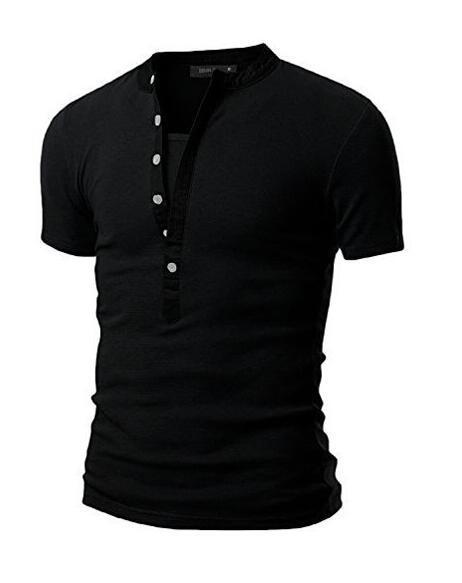 El nuevo comercio exterior 2017 hombres escote costura manga corta camiseta estilo caliente chaqueta