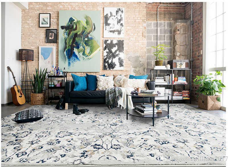 AuBergewohnlich Großhandel Free Country Style Teppich Wohnzimmer Modern Simple Full House  Nachttisch Schlafzimmer Schlafzimmer Teppich Couchtisch Decke Von  William2017, ...