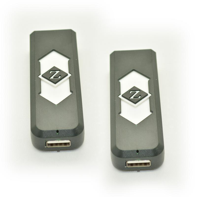 卸売 - 携帯用USB電子充電式バッテリータバコフレームレスライターパワーバッテリータバコ表示箱喫煙パイプ