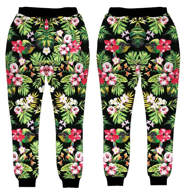 8a14d6dff3a77c 2019 Wholesale New Style Design For Men/Women Jogger Pants Pattern Flowers  3D Print Sweatpants Hip Hop Trousers From Kennethy, $25.08 | DHgate.Com