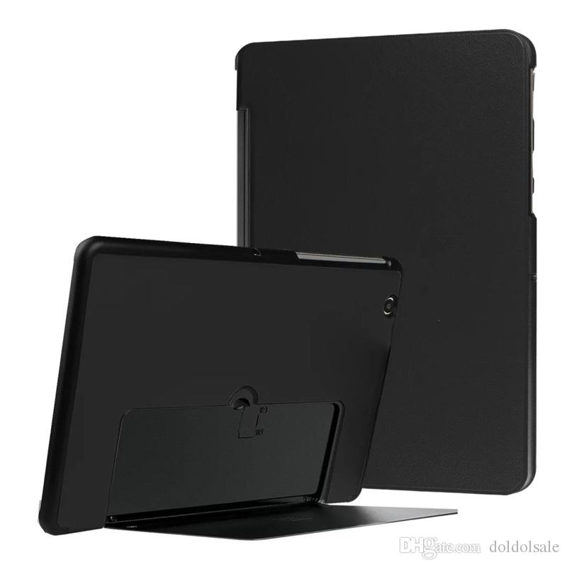 Luxury Three Folding PU Leather Case Cover for LG Gpad G Pad 3 G PAD3 10.1 V755 Tablet Ultra Thin Case