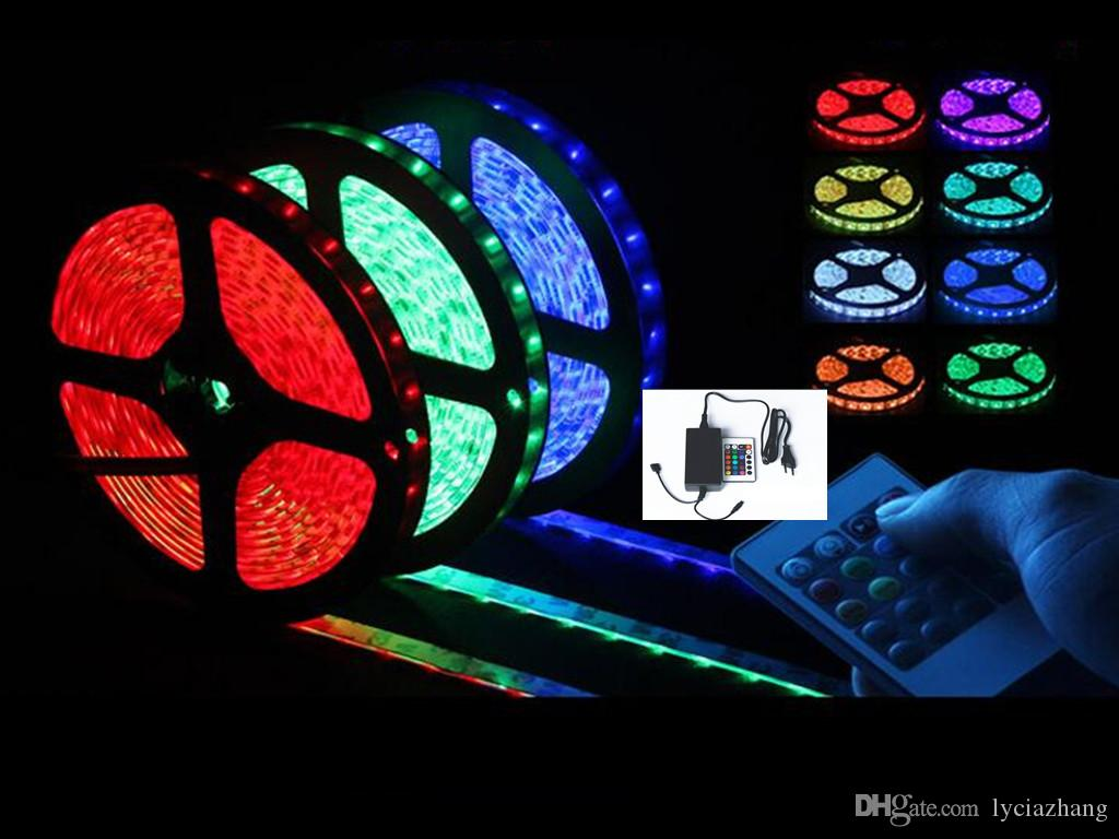 5 meters waterproof self adhesive 12v low voltage led lights with 5 meters waterproof self adhesive 12v low voltage led lights with light strip light with controller package 12v led light strips car led light strips from aloadofball Gallery