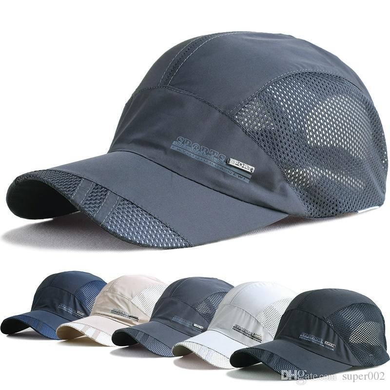 0ed620b2f95c9 Men And Women Spring Snapback Quick Dry Outdoor Summer Sun Hat Bone ...
