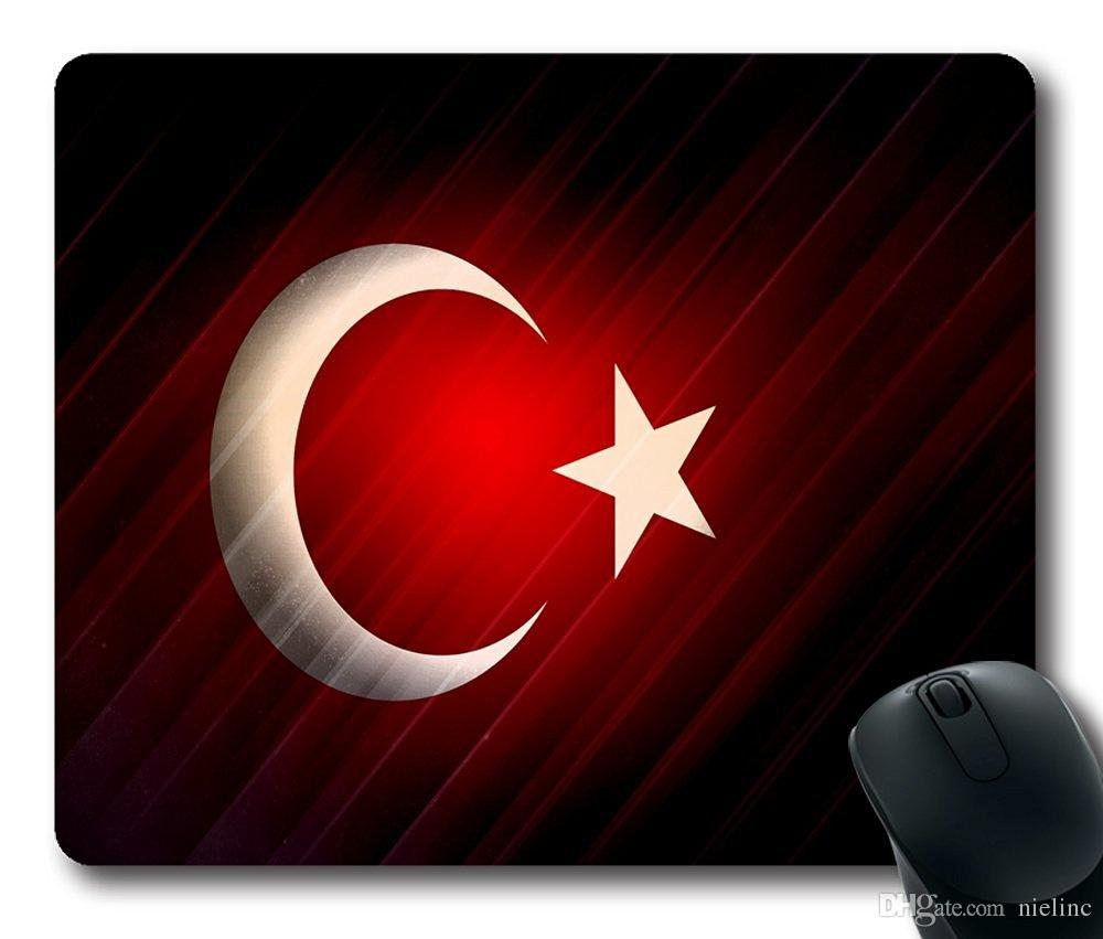 turkey atat iexcl sect 1rk flags red customized mousepad oblong